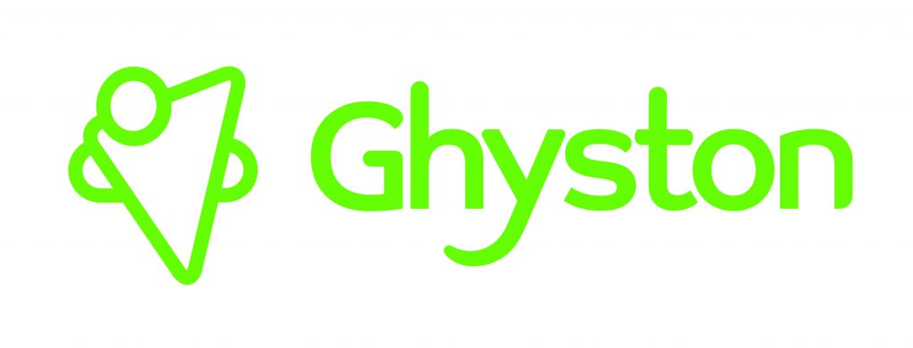 Ghyston logo in green